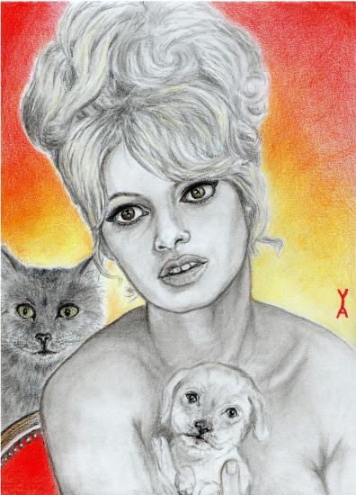 Brigitte Bardot by Yael-Assia